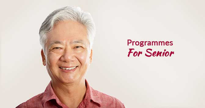 Programmes For Seniors