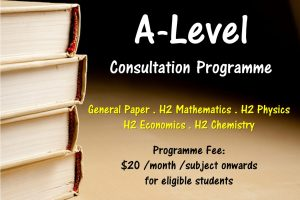 A-Level Consultation Programme opens for application!