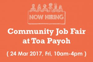 Community Job Fair at Toa Payoh