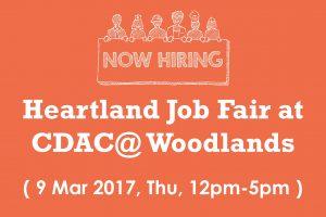 Heartland Job Fair at CDAC@ Woodlands