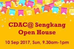 CDAC@ Sengkang Open House
