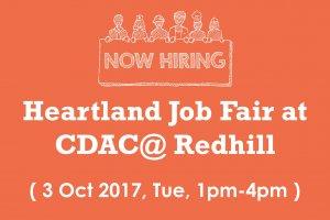 Job Fair at CDAC@ Redhill