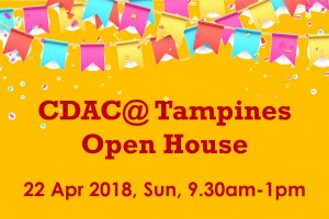 CDAC@ Tampines Open House
