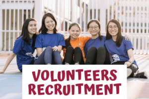 Volunteers Recruitment: CDAC Supervised Homework Group & Project YOUth Can Shine